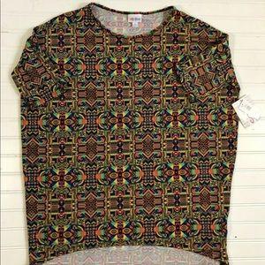New Lularoe Irma Tunic High Low Hemline Shirt S